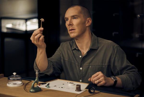 Benedict Cumberbatch assistant à une master class privée © Jaeger-LeCoultre