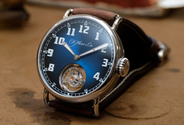 Heritage Tourbillon Funky Blue © H. Moser & Cie