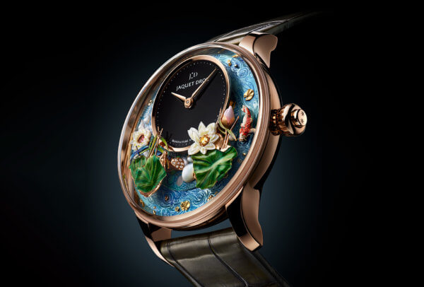 Magic Lotus Automaton © Jaquet Droz