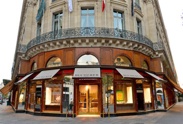 Boutique Bucherer à Paris