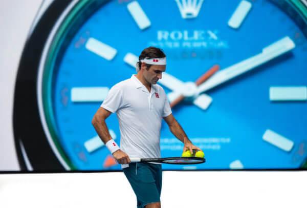 Roger Federer à l'Open d'Australie en 2019