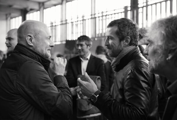 Georges Kern (CEO Breitling) et Guillaume Canet © Wheels and Waves festival