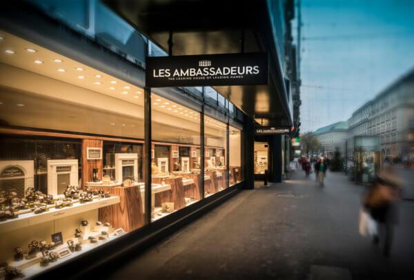 Les Ambassadeurs, boutique de Zurich