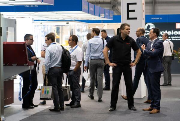 Le quartier des fabricants de machines a vu passer passablement de monde lors de la dernière édition de l'EPHJ, qui s'est terminée le 21 juin.