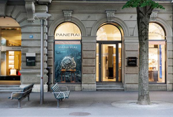 Panerai boutique in Zürich
