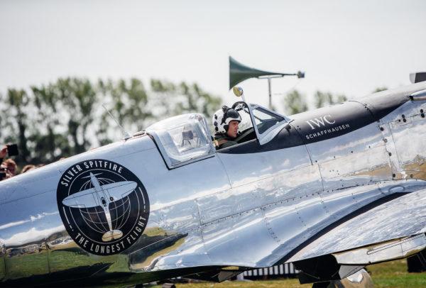 Pilot Matt Jones © IWC