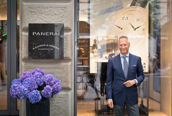 Inuguration de la boutique A. Lange & Söhne de Zürich en présence du CEO Wilhelm Schmid