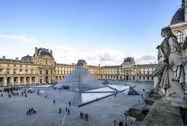 La pyramide du Musée du Louvre © Olivier Ouadah