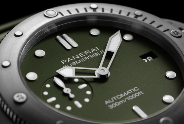 Submersible Verde Militare 42 mm (PAM01055) © Panerai