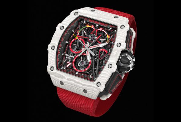 Tourbillon chronographe à rattrapante RM 50-04 Kimi Räikkönen © Richard Mille