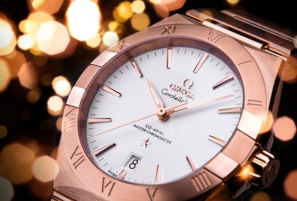 Constellation Co‑axial Master Chronometer 39mm or Sedna™ sur or Sedna™ © Omega