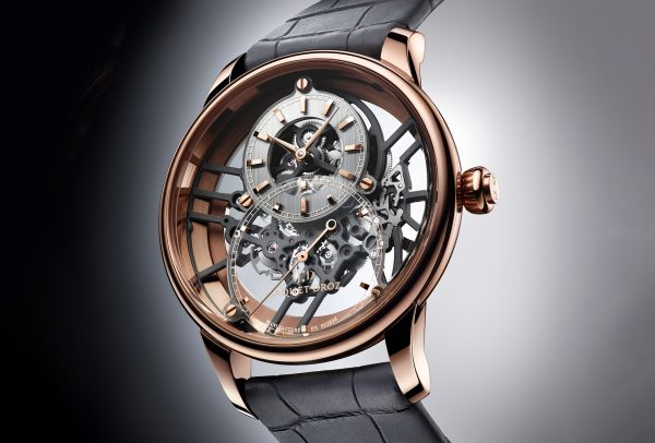 Grande Seconde Skelet-One or rouge © Jaquet Droz