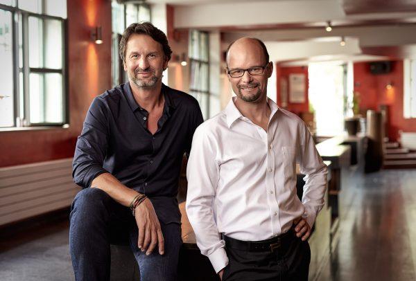 Max Busser (CEO MB&F) et Arnaud Nicolas (CEO L'Epée 1839)
