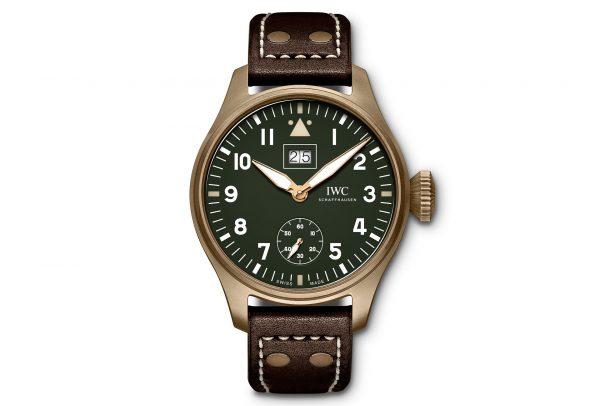 Grande Montre d'Aviateur Grande Date Spitfire Édition « Mission Accomplished » © IWC