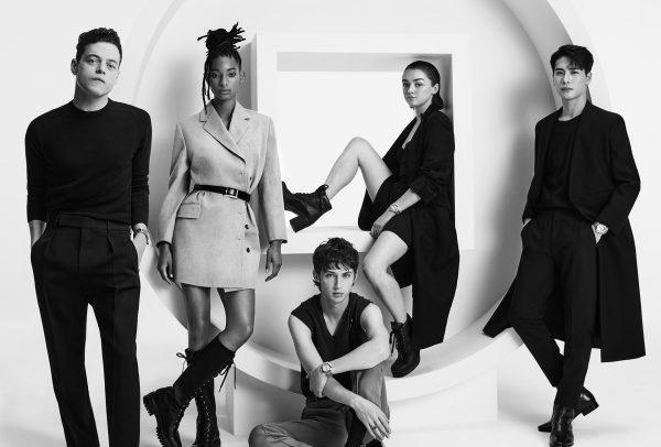 Rami Malek, Willow Smith, Troye Sivan, Maisie Williams, Jackson Wang © Pasha de Cartier
