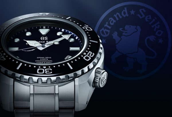 60th Anniversary Limited Edition Professional Diver's 600M Spring Drive Calibrer 9RA5 © Grand Seiko