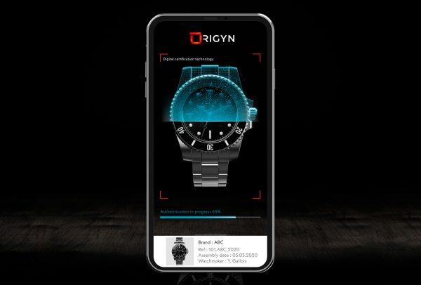 Origyn a créé une application pour smartphone qui permet aux utilisateurs de prendre une photo d'un objet afin de l'identifier et de l'authentifier, tout en apprenant sa provenance, son historique et l'identité son propriétaire.