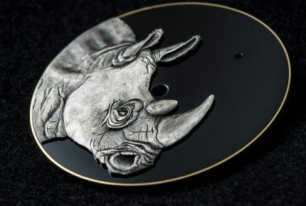 Art Serie Rhinoceros (cadran) © Speake Marin