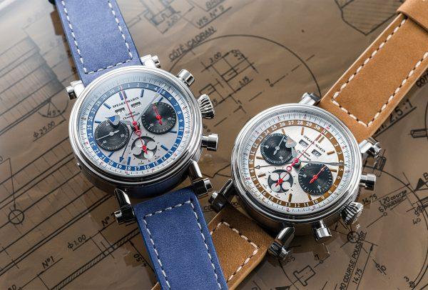 London Chronograph Triple Date © Speake-Marin