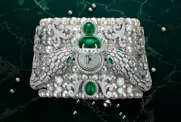 Montre à secret Serpenti Misteriosi Baroque Pearls © Bulgari