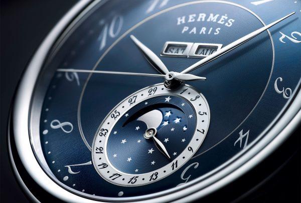Hermès Arceau Grande Lune © Joel Von Allmen
