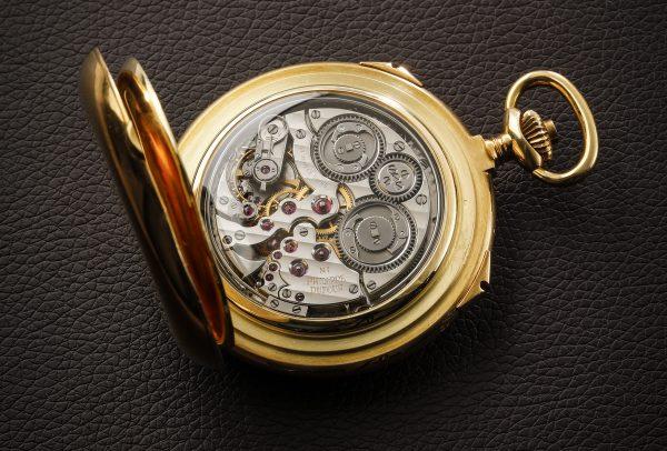 Philippe Dufour montre de poche Grande et Petite Sonnerie No1