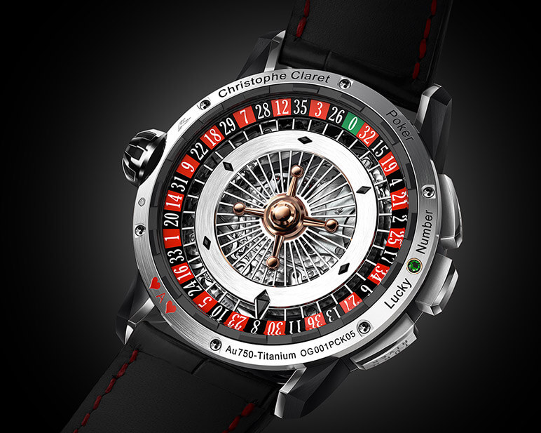 Poker Watch An Astounding New Feat By Christophe Claret Fhh Journal