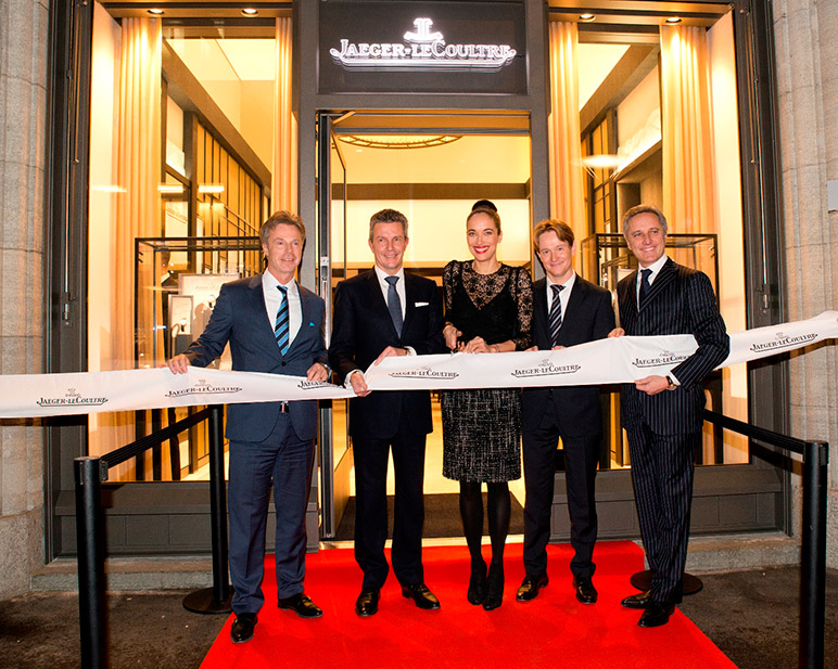 Jaeger Lecoultre Opens New Boutique In Zurich Fhh Journal